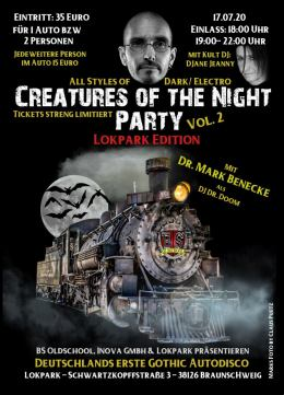 Creatures oft the Night Party Vol.2 – Lokpark Edition